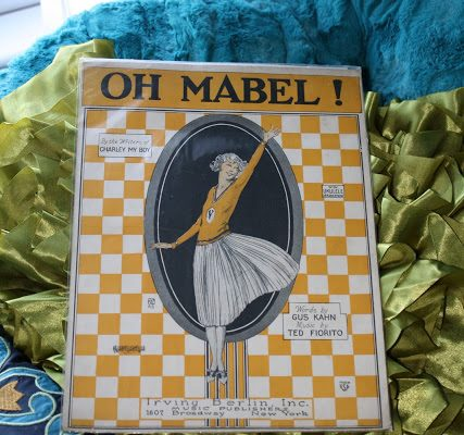 Oh Mabel - Vintage Sheet Music