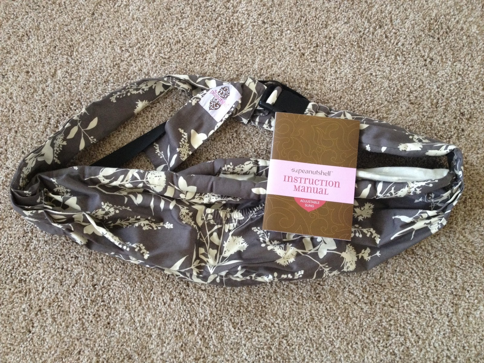 the peanut shell adjustable sling review and giveaway  modernly  - the peanut shell adjustable sling review and giveaway  modernly morgan