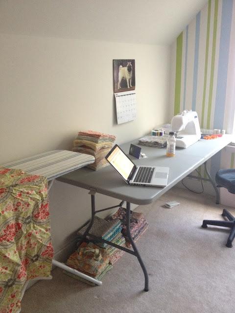 work room sewing room