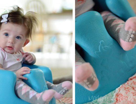Mabel Sporting her BabyLegs Knee High Socks