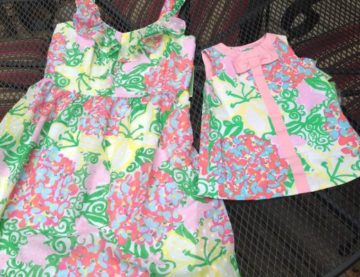 Matching Lilly Pulitzer Patterns For Me and Mabel