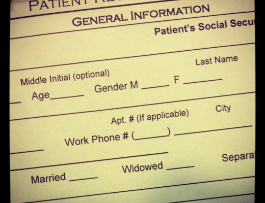 dentist new patient paperwork