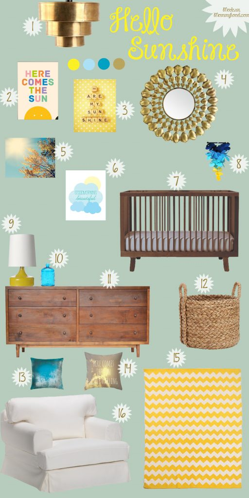 Hello Sunshine Gender Neutral Nursery Modernly Morgan
