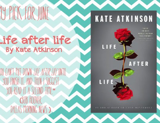 June's Book Choice:  Life After Life
