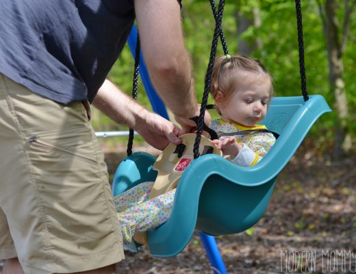 First time in a swing