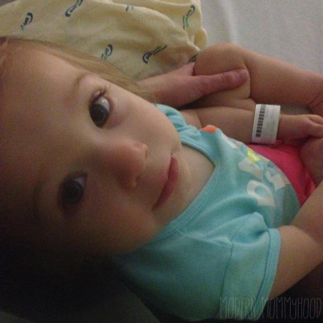 Mabel at the hospital