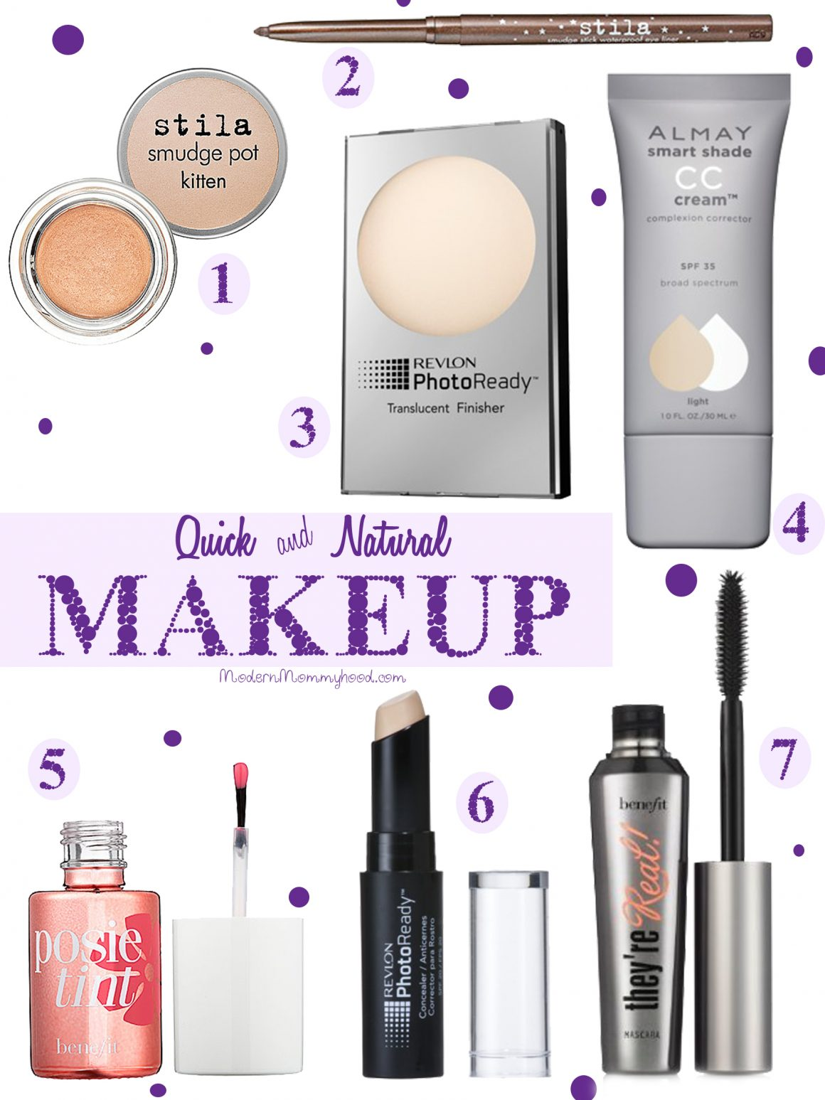 Quick and Natural Makeup - Get out the door quickly! Great for busy moms and women.