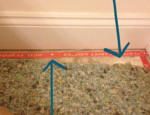 carpet pad fail