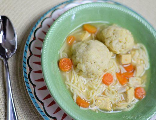 Matzo Ball Soup Recipe - super easy comfort food
