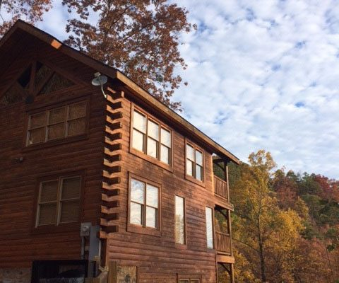 Sunrise at the Horizon Cabin - Pigeon Forge, Gatlinburg, Sevierville TN, Tennessee - an amazing mountain cabin