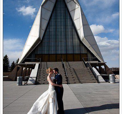 USAFA Air Force Academy Chapel Wedding