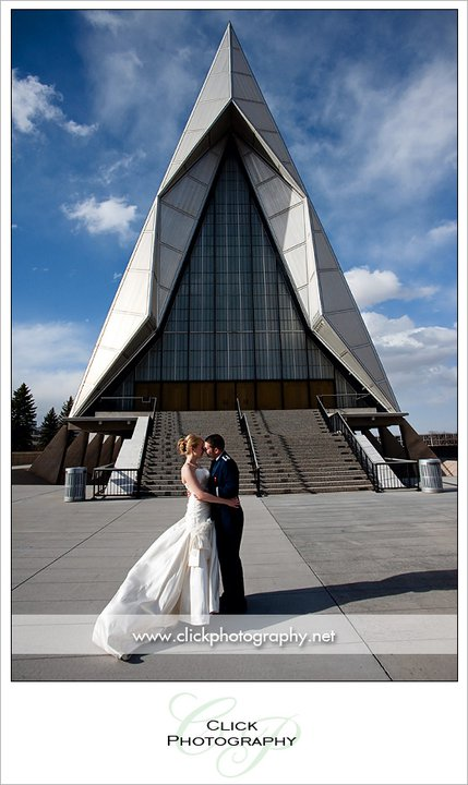 USAFA Air Force Academy Chapel Wedding