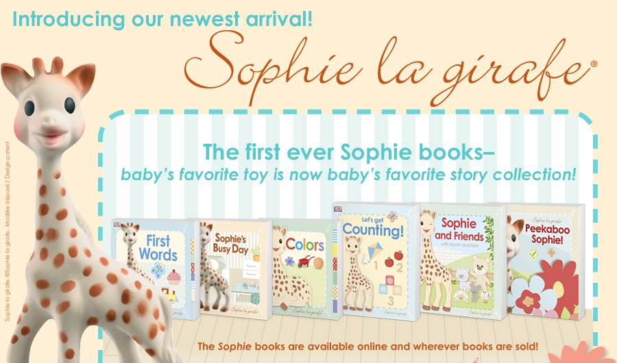sophie board books and giveaway