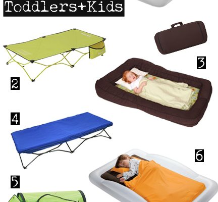 Travel Beds for Toddler and Kids - different options and different pricepoints that will work for everyone! ModernMommyhood.com