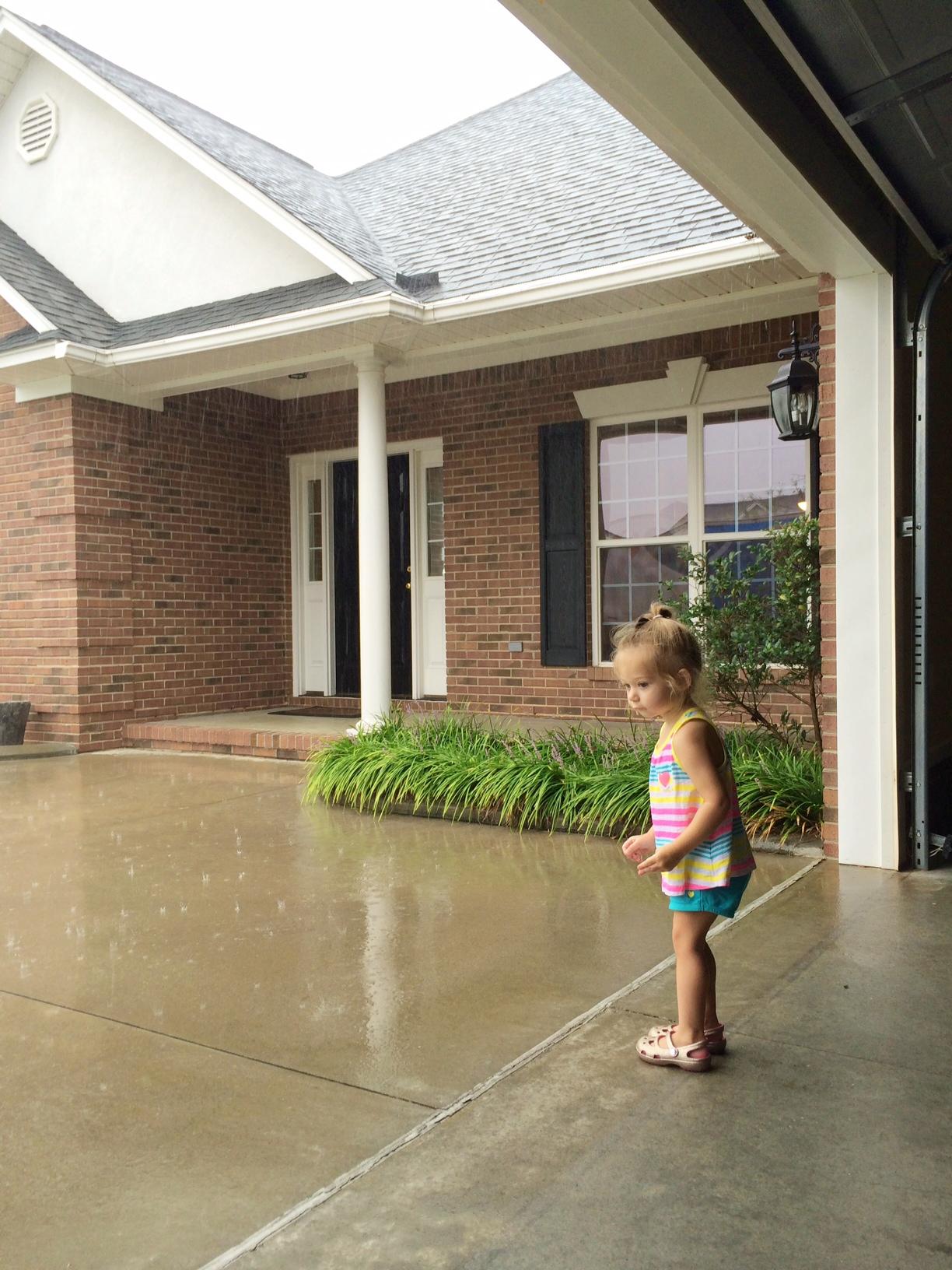 Moving day rain