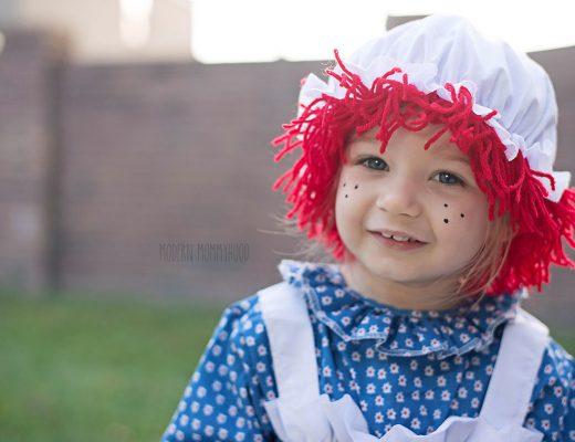 Halloween 2014 Raggedy Ann