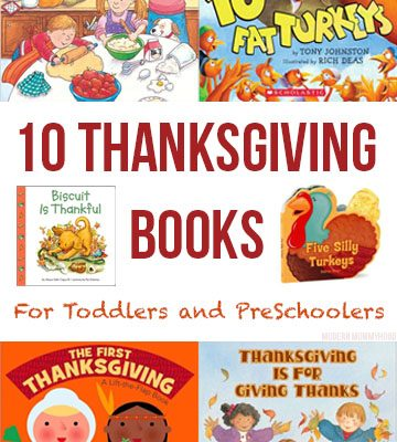 Thanksgiving Books for Toddlers and Preschoolers