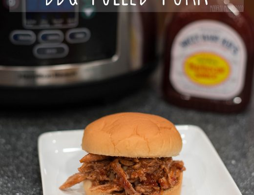Slow Cooker BBQ Pulled Pork Recipe - Super easy 3 ingredient meal for the crockpot!