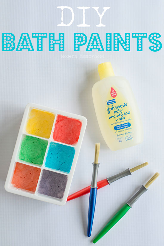 DIY Bath Paints - Modernly Morgan