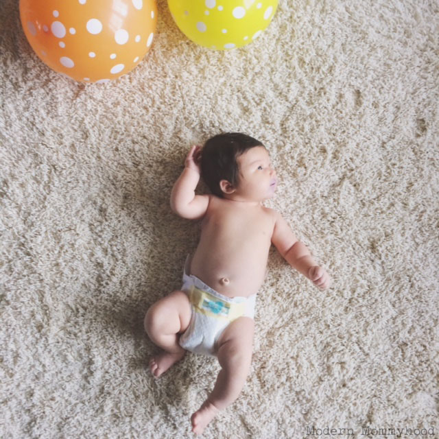 Millie's First Month