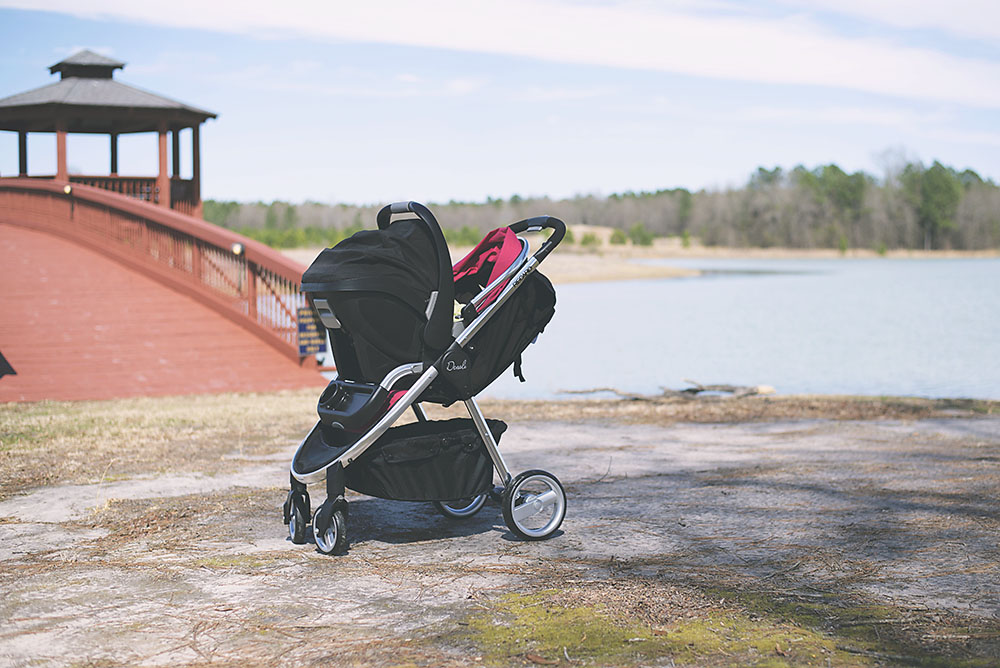 RECARO Performance Denali Performance Coupe Travel System - Review and Giveaway