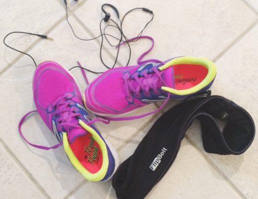 my favorite running gear: new balance fresh foam and flip belt