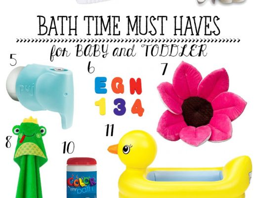 Bath Time Must Haves for Baby and Toddler - practical and fun items that have all been used and loved in our house!