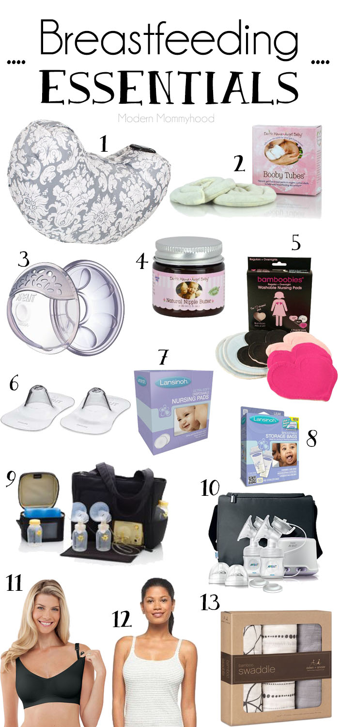 Breastfeeding Essentials Modernly Morgan