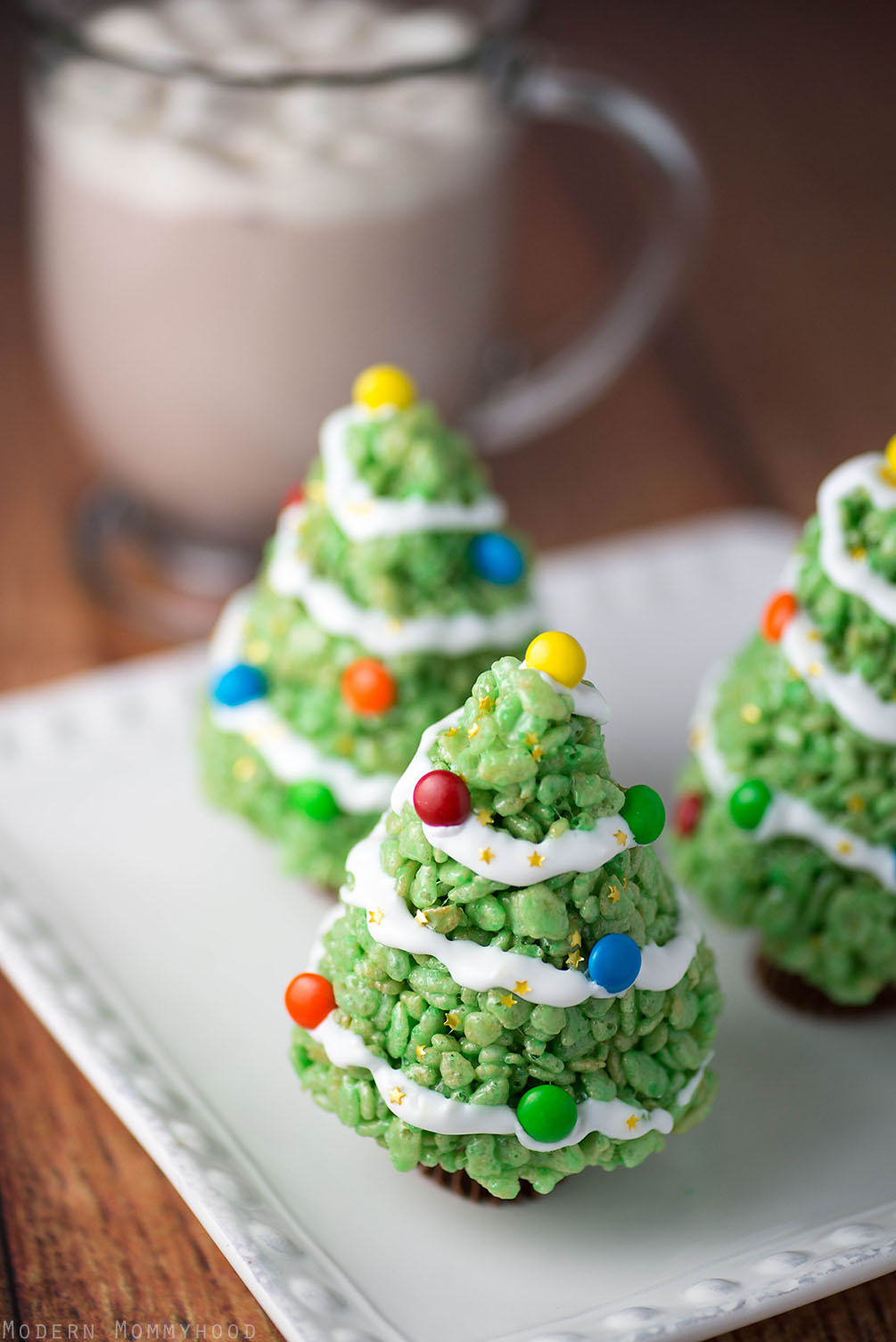 christmas tree treats hot chocolate trumoo modernly morgan
