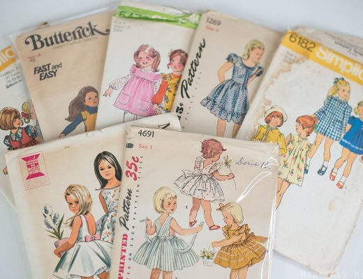 Vintage Patterns for girls