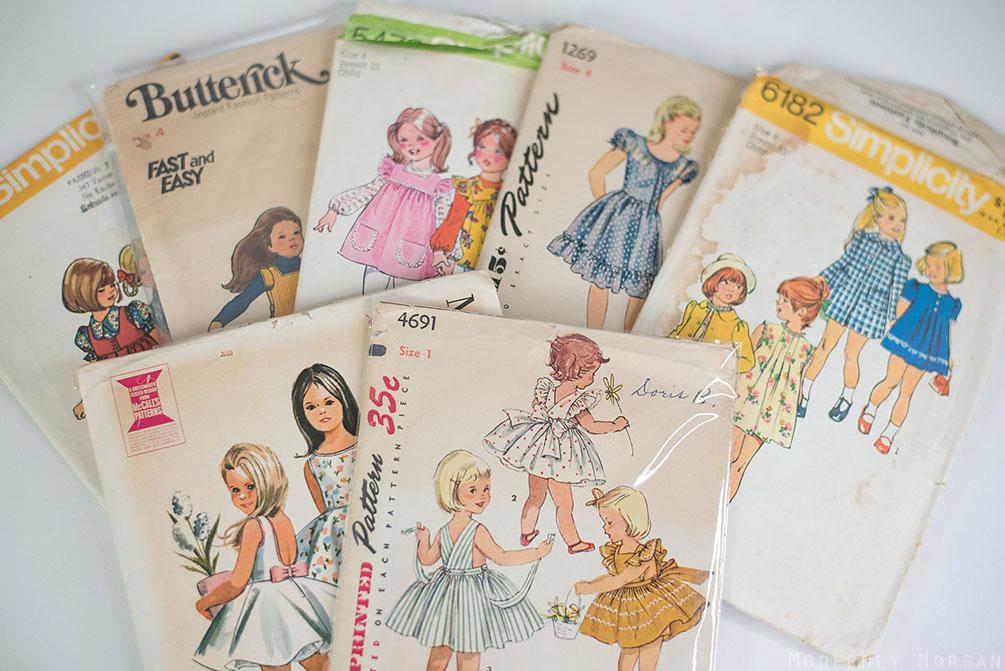 Vintage Patterns for girls
