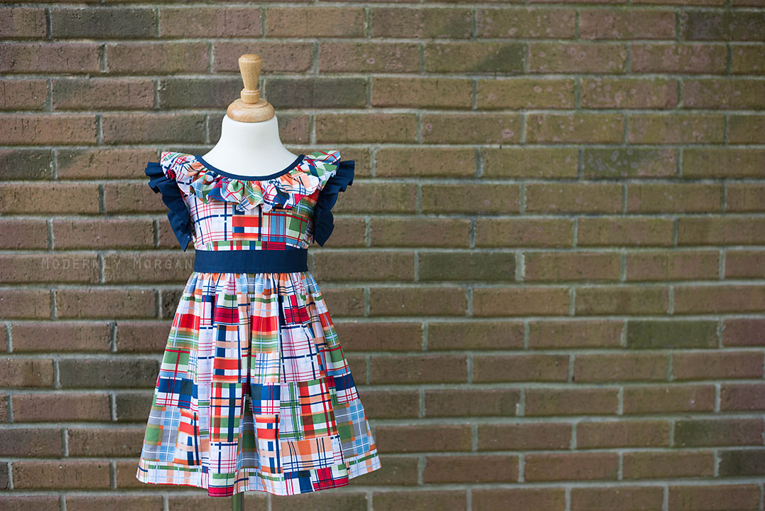Vintage Simplicity 2388 - modified with sash