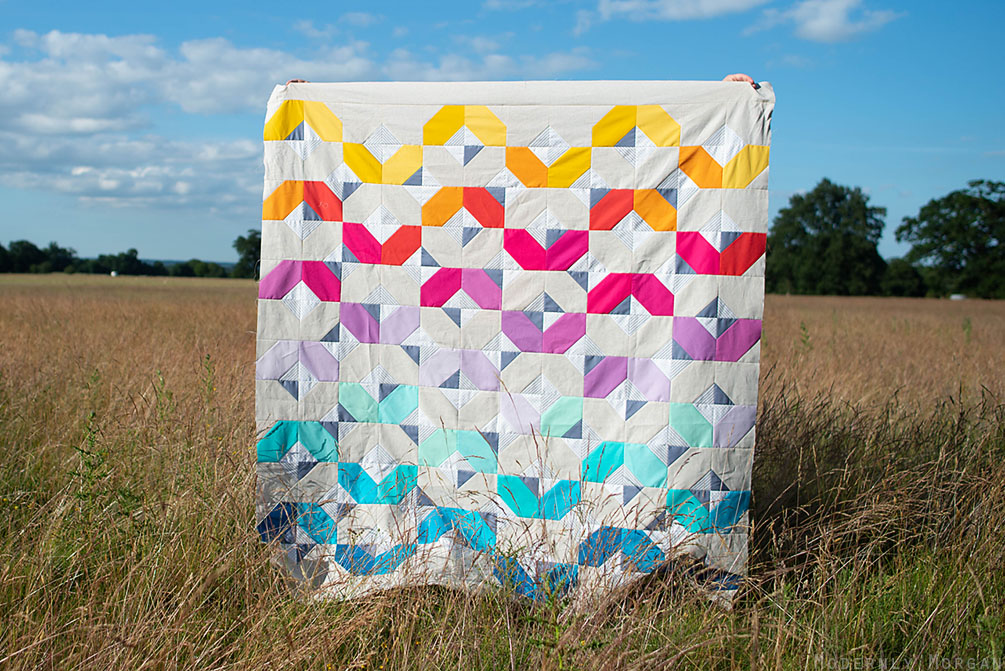 My Version of Suzy Quilts' Glitter and Glow Quilt