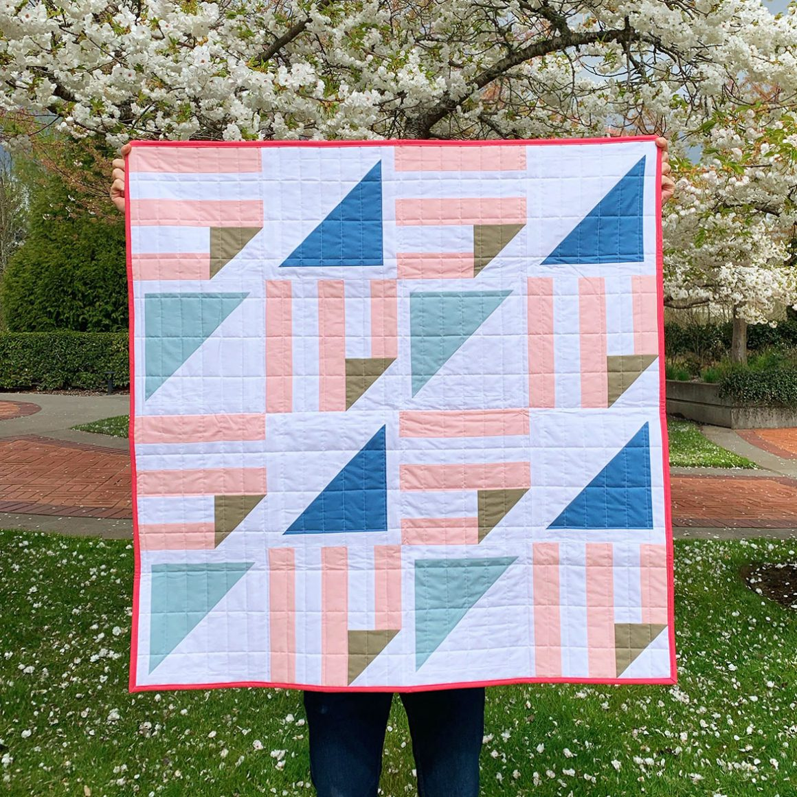 Half Pint Quilt - made by ClaireAndHerCrafts