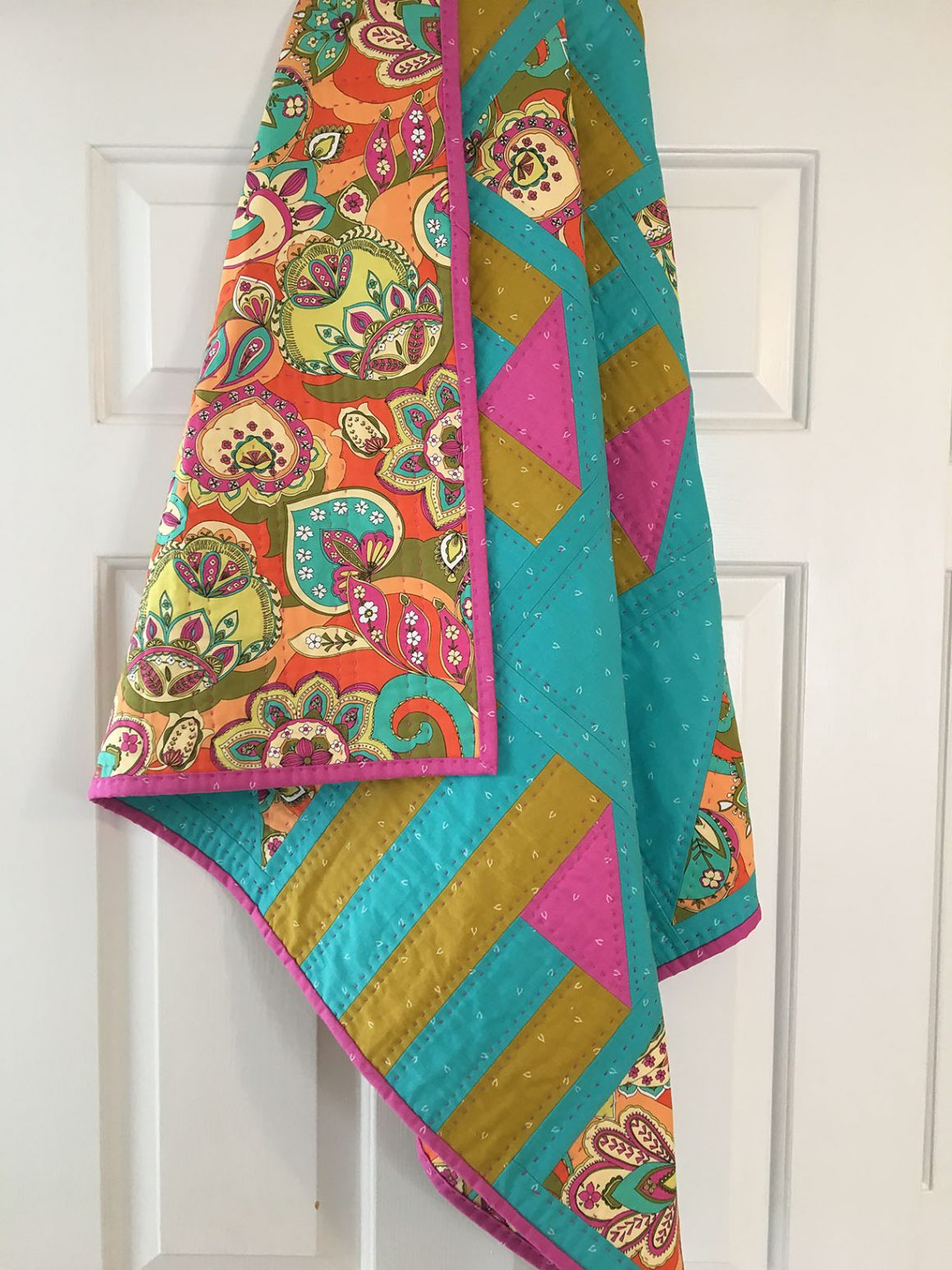 Half Pint Quilt - made by HollyGroveThreads