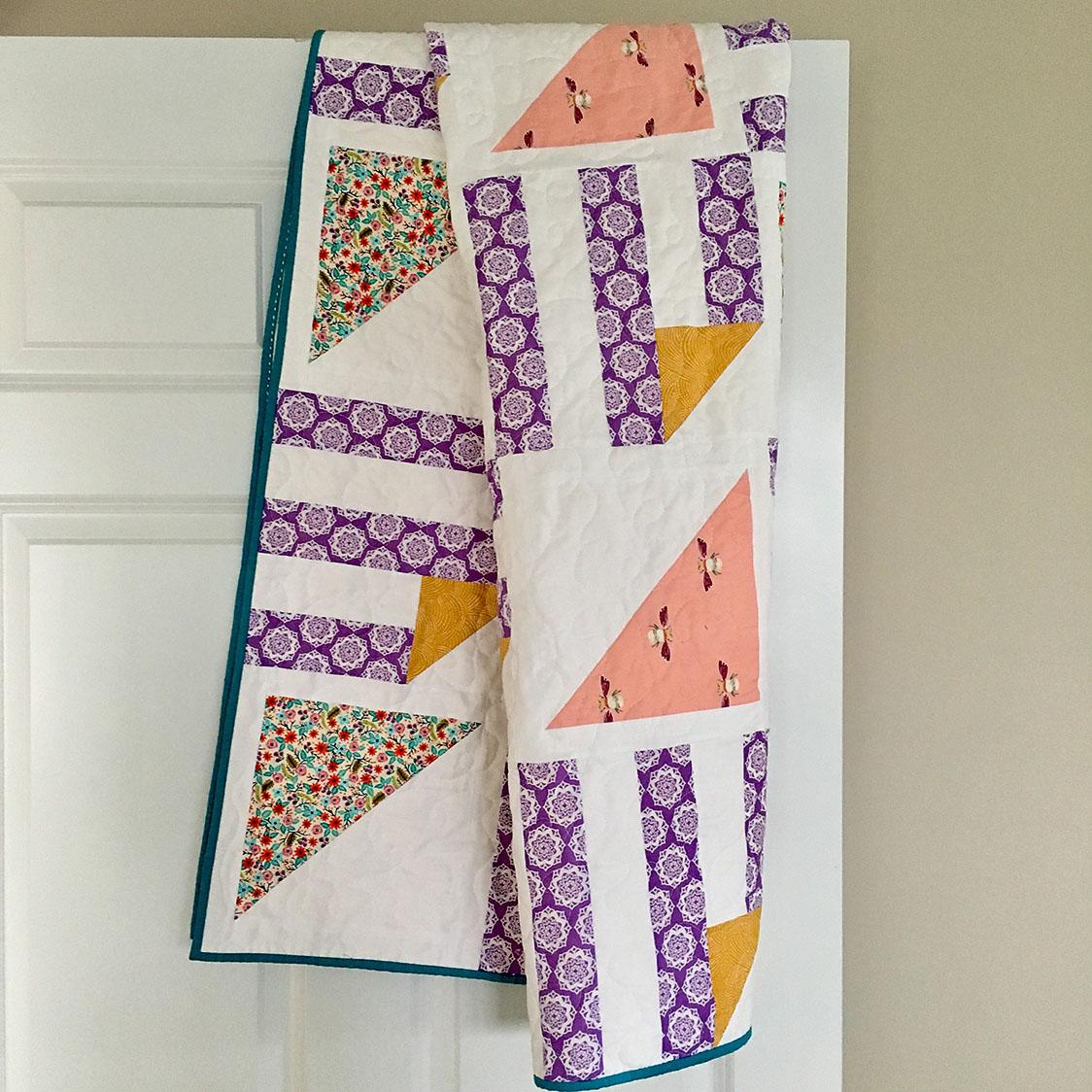 Half Pint Quilt - made by GoldilocksAndHer3Cubs