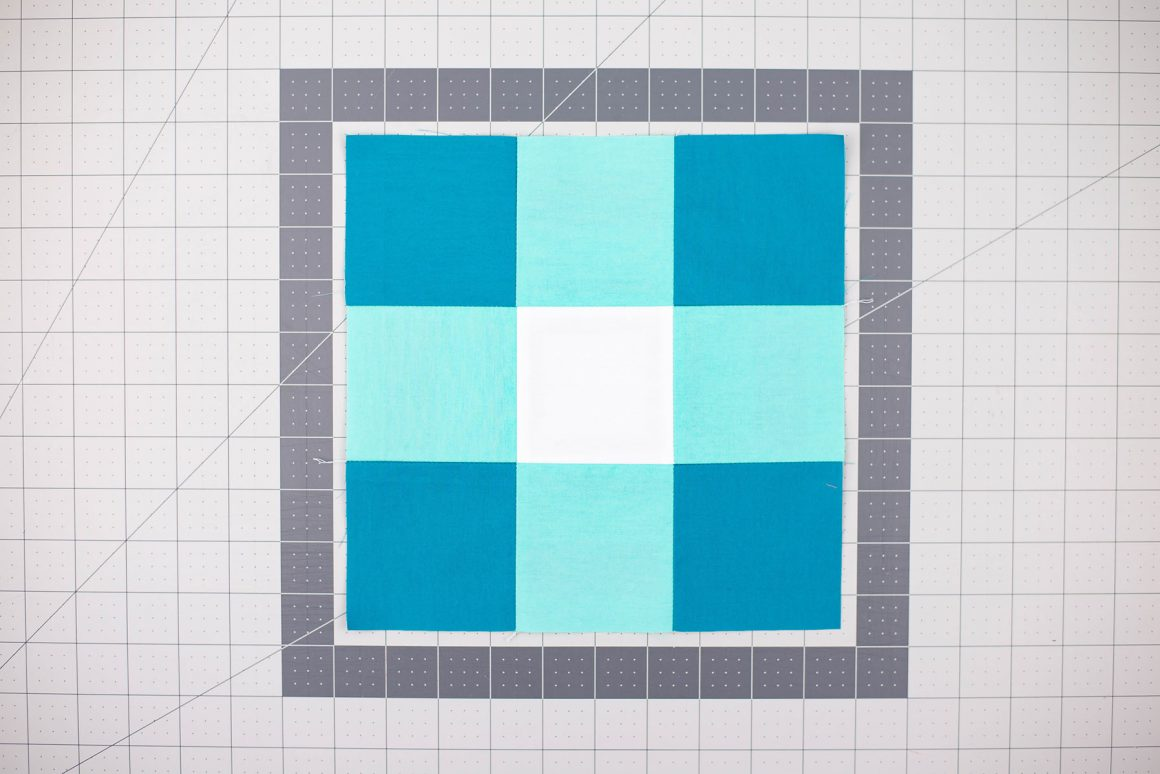 Boot Room Quilt - Free Pattern Tutorial - A modern spin on traditional quilt blocks!