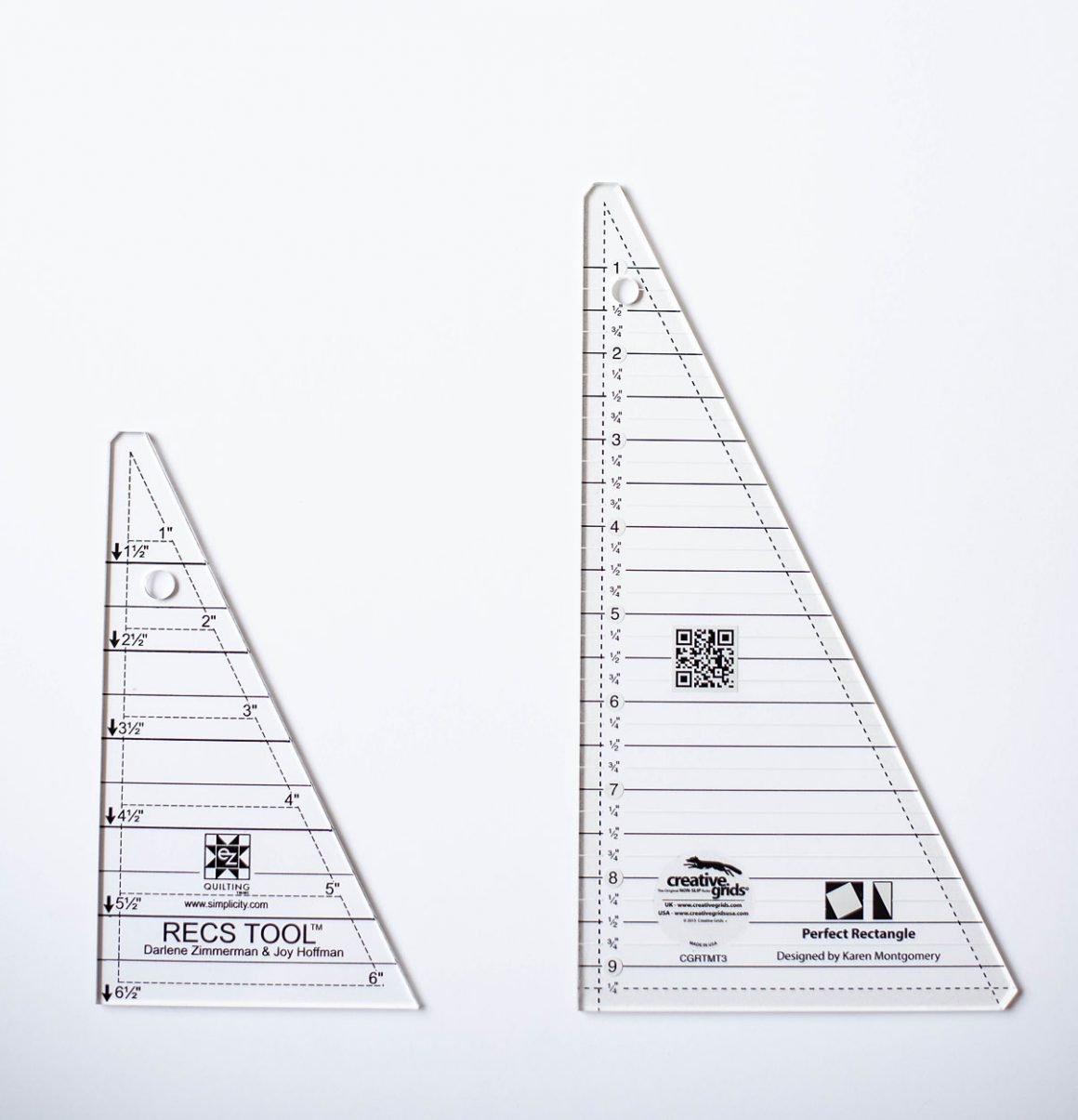 Easy Half Rectangle Triangles - HRT Tutorial - Modernly Morgan